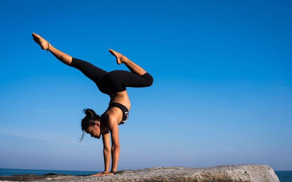 Women Balance Yoga